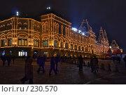 Купить «Предновогодний ГУМ», фото № 230570, снято 30 декабря 2007 г. (c) Юрий Назаров / Фотобанк Лори