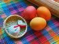 Крашеные яйца. Пасхальный натюрморт, фото № 231798, снято 25 января 2007 г. (c) only / Фотобанк Лори