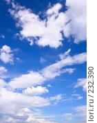 Купить «Небо и облака», фото № 232390, снято 21 августа 2019 г. (c) Роман Сигаев / Фотобанк Лори