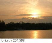 Купить «Закат», фото № 234598, снято 3 октября 2007 г. (c) Светлана Секерина / Фотобанк Лори
