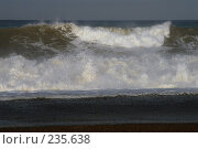 Купить «Черное море штормит», фото № 235638, снято 30 августа 2006 г. (c) Виктор Филиппович Погонцев / Фотобанк Лори