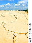 Купить «Сухая земля», фото № 236158, снято 13 июля 2007 г. (c) Валерия Потапова / Фотобанк Лори