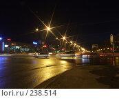 Купить «Улица Ленина. Нижневартовск. Ночь», фото № 238514, снято 18 апреля 2018 г. (c) Нурулин Андрей / Фотобанк Лори