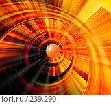 Купить «Абстракция в оранжевых тонах», иллюстрация № 239290 (c) ElenArt / Фотобанк Лори