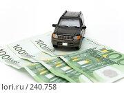 Купить «Деньги и автомобиль», фото № 240758, снято 21 июля 2019 г. (c) паша семенов / Фотобанк Лори