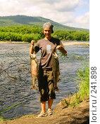 Купить «Камчатский улов», фото № 241898, снято 3 августа 2007 г. (c) Николай Коржов / Фотобанк Лори
