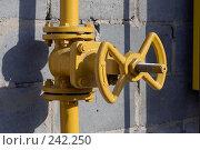 Купить «Газовый вентиль», фото № 242250, снято 21 сентября 2018 г. (c) Григорий Погребняк / Фотобанк Лори