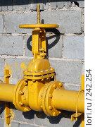 Купить «Большая газовая заслонка», фото № 242254, снято 21 сентября 2018 г. (c) Григорий Погребняк / Фотобанк Лори