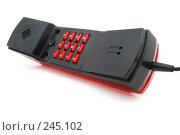 Купить «Телефон с красными кнопками», фото № 245102, снято 5 апреля 2008 г. (c) Валерий Александрович / Фотобанк Лори