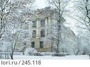 Купить «Старое здание на территории Политехнического института, Санкт-Петербург», фото № 245118, снято 27 января 2008 г. (c) Ольга Красавина / Фотобанк Лори