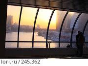 """Купить «Вид с моста """"Багратион"""" на Москву-Сити», фото № 245362, снято 31 марта 2008 г. (c) Захар Кибанов / Фотобанк Лори"""