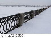 Купить «Новосибирск. Набережная», фото № 246530, снято 18 января 2007 г. (c) Андрей Доронченко / Фотобанк Лори