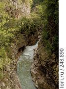 Купить «Республика Адыгея. Гуамское ущелье - ущелье реки Курджипс», фото № 248890, снято 1 мая 2006 г. (c) Виктор Филиппович Погонцев / Фотобанк Лори