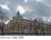 Купить «Сретенский бульвар», фото № 249394, снято 20 декабря 2007 г. (c) Эдуард Межерицкий / Фотобанк Лори