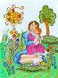 Мама рассказывает сказку и весь мир вокруг становится сказочным, иллюстрация № 251534 (c) Олеся Сарычева / Фотобанк Лори