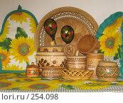 Купить «Сувениры. Россия, Береста, дерево», фото № 254098, снято 7 апреля 2008 г. (c) ИВА Афонская / Фотобанк Лори