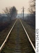 Купить «Железная дорога», фото № 254470, снято 7 апреля 2008 г. (c) Алексеенков Евгений / Фотобанк Лори