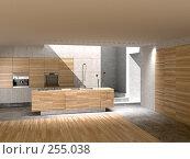 Кухня с окном в потолке, иллюстрация № 255038 (c) Юрий Бельмесов / Фотобанк Лори