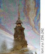 Купить «Собор Петра и Павла в Санкт-Петербурге. Отражение», фото № 256242, снято 3 января 2007 г. (c) Тарановский Д. / Фотобанк Лори