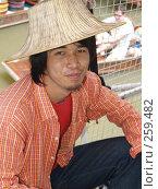 Купить «Тайский продавец», фото № 259482, снято 16 августа 2007 г. (c) Примак Полина / Фотобанк Лори