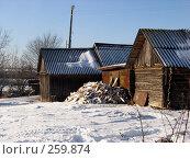 Заготовленные дрова, фото № 259874, снято 5 января 2008 г. (c) Анастасия Некрасова / Фотобанк Лори