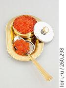 Купить «Икра красная», фото № 260298, снято 7 февраля 2008 г. (c) Татьяна Белова / Фотобанк Лори