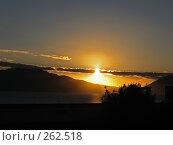 Купить «Закат на море», фото № 262518, снято 3 ноября 2006 г. (c) Маргарита Лир / Фотобанк Лори