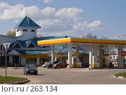 Купить «Автозаправочная станция», фото № 263134, снято 26 апреля 2008 г. (c) Julia Nelson / Фотобанк Лори