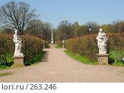 Купить «Парк Кусково», фото № 263246, снято 24 апреля 2008 г. (c) Алексей Семьёшкин / Фотобанк Лори
