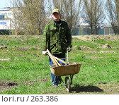 Благоустройство газона (2008 год). Редакционное фото, фотограф lana1501 / Фотобанк Лори