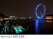 Купить «London Eye - Лондонское колесо обозрения», фото № 265526, снято 21 апреля 2008 г. (c) Артем Абрамян / Фотобанк Лори