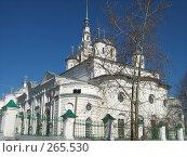 Купить «Троицкий собор города Кинешма», фото № 265530, снято 24 апреля 2008 г. (c) Привезенцев Роман / Фотобанк Лори