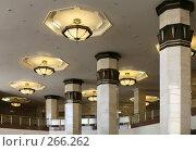 Купить «Колонны и светильники», эксклюзивное фото № 266262, снято 29 апреля 2008 г. (c) Наталья Волкова / Фотобанк Лори