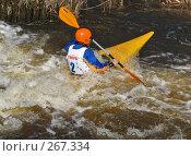 В бурном потоке (2008 год). Редакционное фото, фотограф Игорь Паршин / Фотобанк Лори