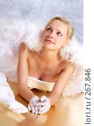Купить «Невеста-ангел», фото № 267846, снято 3 октября 2007 г. (c) Ольга С. / Фотобанк Лори