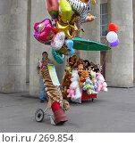 Мужчина  торгует игрушками в парке (2008 год). Редакционное фото, фотограф lana1501 / Фотобанк Лори