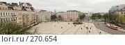 Купить «Панорама Софийской площади (Киев, Украина)», фото № 270654, снято 13 апреля 2008 г. (c) Дмитрий Яковлев / Фотобанк Лори