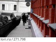 Купить «Красная стена», фото № 271798, снято 17 марта 2008 г. (c) Недорез Александр / Фотобанк Лори