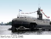 Купить «Подводная лодка», фото № 272046, снято 1 мая 2008 г. (c) Морозова Татьяна / Фотобанк Лори
