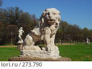 Купить «Скульптура льва», фото № 273790, снято 24 апреля 2008 г. (c) Алексей Семьёшкин / Фотобанк Лори