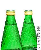 Купить «Две бутылки с минеральной водой», фото № 273866, снято 5 мая 2008 г. (c) Михаил Котов / Фотобанк Лори