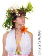 Купить «Цветочная фея», фото № 276098, снято 11 июля 2007 г. (c) Ольга С. / Фотобанк Лори