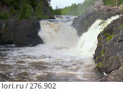 Купить «Карелия. Водопад Кивач», фото № 276902, снято 10 июня 2007 г. (c) Инга Лексина / Фотобанк Лори
