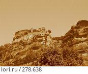 Купить «Монастырь на горе. Греция», фото № 278638, снято 1 июля 2007 г. (c) Юлия Селезнева / Фотобанк Лори