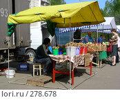 Купить «Рынок выходного дня, улица Сахалинская, район Гольяново, Москва», эксклюзивное фото № 278678, снято 1 мая 2008 г. (c) lana1501 / Фотобанк Лори