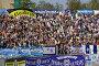 Трибуна болельщиков Динамо, фото № 280114, снято 19 февраля 2017 г. (c) ElenArt / Фотобанк Лори