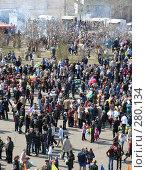 Купить «Народные гулянья. Город Краснокаменск. 9 мая 2008 год», фото № 280134, снято 9 мая 2008 г. (c) Геннадий Соловьев / Фотобанк Лори