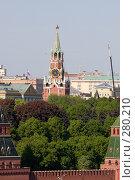 Купить «Спасская башня Кремля», фото № 280210, снято 8 мая 2008 г. (c) Антон Белицкий / Фотобанк Лори