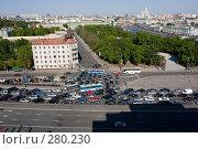 Купить «Пробка в центре Москвы», фото № 280230, снято 8 мая 2008 г. (c) Антон Белицкий / Фотобанк Лори