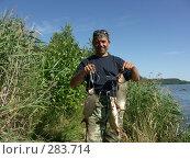 Купить «Летняя рыбалка на сазана», фото № 283714, снято 4 августа 2007 г. (c) Хижняк Сергей / Фотобанк Лори